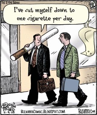 1 sigaret per dag al schadelijk